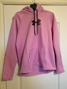 NEW Under Armour Women's Pink Camo Hoodie Size Large 1286058 924 $50 $31.99