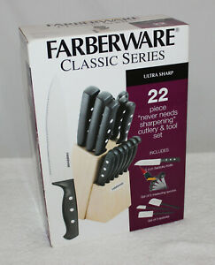 Farber Ware Clasic Series 22 Piece Cutlery Set