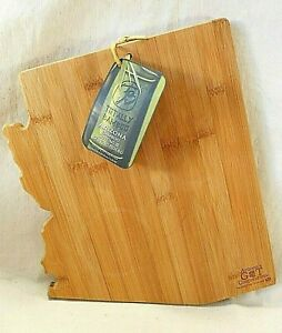 Totally Bamboo ARIZONA State Shaped Cutting & Serving Boards NEW