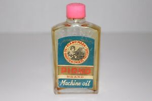 Vintage PIANO Brand Special Sewing Machine Oil Bottle $7.49