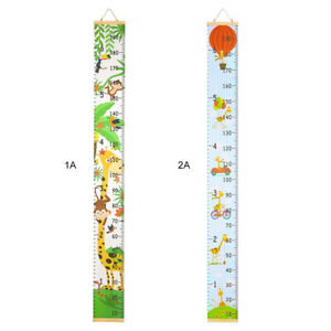 Simple Cartoon Children Room Decoration Hanging Picture Height Ruler Wall Cute