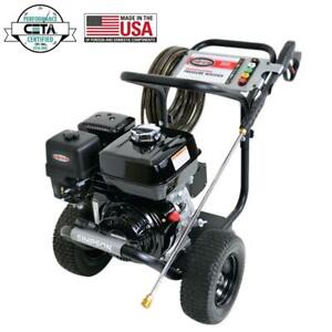 Simpson PowerShot 3800 PSI at 3.5 GPM HONDA GX270 with AAA Industrial Triplex