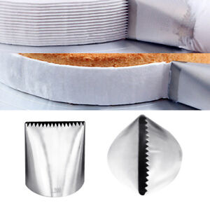 AG Extra Large Icing Piping Nozzle Cake Decorating Pastry Tip Fondant Cake DIY $3.50