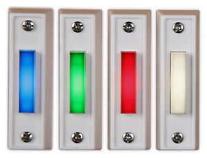 Garage Door Wall Button Lighted Wired LED MADE IN USA $9.99