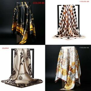 Womens Scarf Silk felling Square Head Scarfs 35*35 120 Styles SHIP FROM USA $9.99