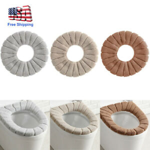 NEW Soft Washable Toilet Seat Cover Pad Lid Top Cover Closestool Bathroom Warmer