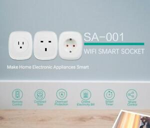 Smart Plug 16A WIFI Socket Outlet Swtich for Echo Alexa Google Home APP Remote