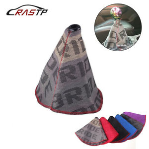 Racing Bride Hyper Fabric Shift Knob Shifter Boot Cover MT AT Stitches for Honda $8.95