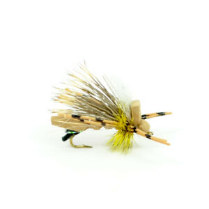Water Trout Foam Body Grasshopper Fly Fishing Fly Hook Size 10