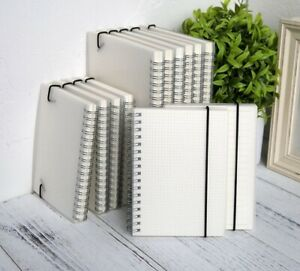 A5 A6 Spiral Notebook Coil Book To Do List Blank Lined Grid Dot Diary Journal