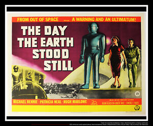 THE DAY EARTH STOOD STILL On Linen 30