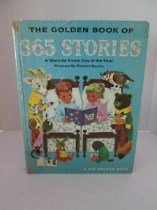 Golden book of 365 Stories Richard Scarry illus. 1972