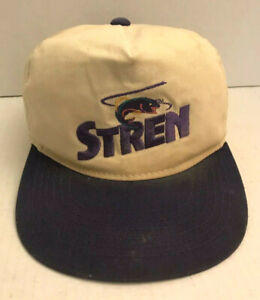 STREN Fishing Line Hat Fishing SnapBack YA Young An Sport Tackle Vintage