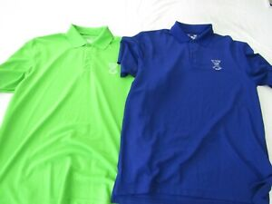 Nice Lot of 2 Under Armour Golf Shirts Old Course St. Andrews Size Large Golf $149.99