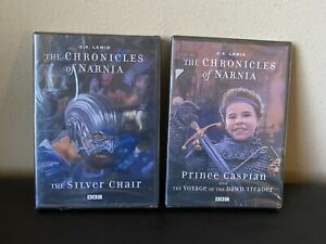 SEALED BBC The Chronicles of Narnia The Silver Chair amp; Prince Caspian DVD $39.98