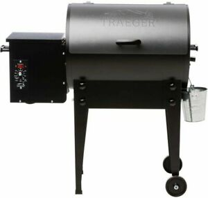 Traeger Tailgater Elite 20 Wood Fired Pellet Grill And Smoker - Silver Free Ship