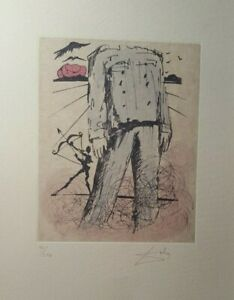SALVADOR DALI  Superb Lithograph Hand Signed in Pencil