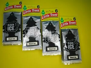 Little Trees BLACK ICE Air Fresheners Car - Home Office Car 6 12 18 24 48 72 144