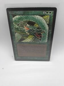 Magic the Gathering: Craw Wurm x1 Beta Edition MTG