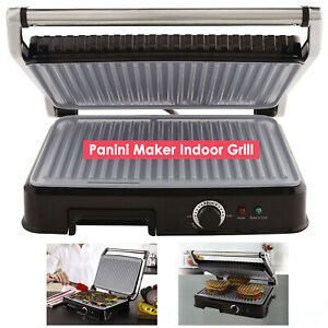 Oster Extra Large Titanium-Infused DuraCeramic Panini Maker and Indoor Grill NEW