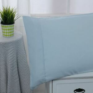 MICROFIBER SOLID 3 PC TXL SHEET SET LIGHT BLUE -SERIES 1400-