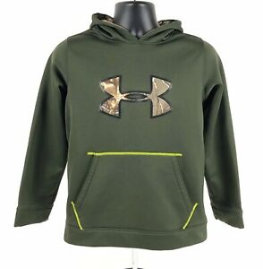 Under Armour Storm Camouflage Loose Pullover Hoodie Boys Youth Large $14.99