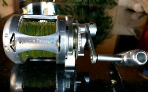 Accurate ATD 30 Platinum Twin Drag 2-speed Big Fishing Reel Good condition!