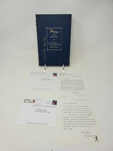 Plum to Peter SIGNED by Peter Schwed RARE Limited Edition 37 500 amp; letters $299.95