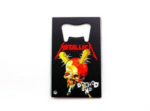 Thrash Metallica Damaged Inc Album Bottle Opener 3.25x2
