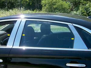 Stainless Steel Pillar Trim 6Pc Fits 2013 2019 Cadillac XTS $65.34