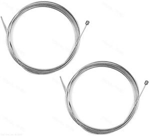Two 2 x Jagwire Slick Stainless Derailleur Shift Cables 2300mm for Campagnolo $8.95