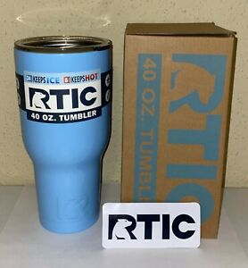 RTIC 40oz Tumbler with Lid and RTIC Decal