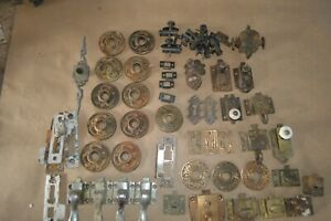 Large lot of miscellaneous door and cabinet hardware