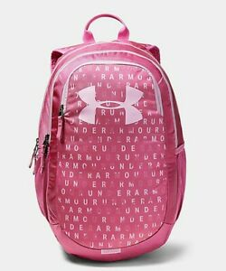 New Under Armour Scrimmage Storm Laptop Backpack Pace Pink $24.99