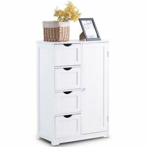 4 Drawers Chest Dresser Cabinet Home B4 Draweredroom Bathroom Storage Furniture
