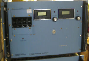 Lambda TCR 6T900 6V 900 Amps DC digital meters good working condition $750.00