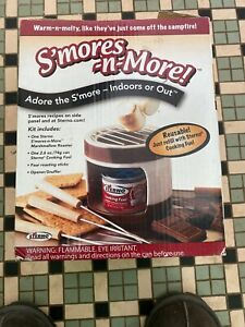 New Sterno Family Fun S'mores Maker, Sealed.  Box Damaged But Never Opened