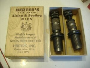 HERTER MARK 2 RELOADING DIE SET CALIBER .222 REMINGTON