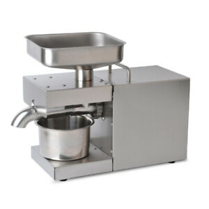 Household Oil Press Machine Automatic Seed Oil Peanut Oil Press Extraction 110V