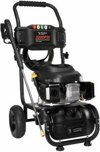 HUMBEE WG 3200 3200 PSI 2.6 GPM Gas Pressure Washer Black EPA and CARB $189.89