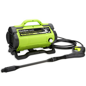 HUMBEE Tools Portable Electric Pressure Washer 1,900 PSI 13.3 amp motor outputs