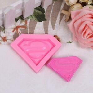 Superman S Mark Silicone Molds Soap Cake Tart Chocolate Bake Mould Ice Cube Tray