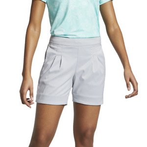 NWT Nike Women's Dri Fit Dry Pleat Golf Shorts Size M L AJ5684 $28.88