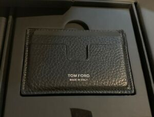 American Express AMEX Centurion Black Card Holder w/ TOM FORD LEATHER CASE + MAG