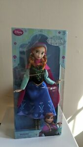 Disney Store Exclusive Frozen 12quot; ANNA Classic Doll Collection 2015 Authentic $16.00