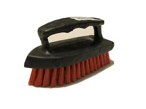 Iron Handle Scrub Brush With Scrubber All Purpose Floor Carpet Cleaning