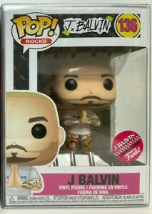 Funko Pop Rocks J Balvin #136 Limited Edition Exclusive Shipped w Protector $24.99