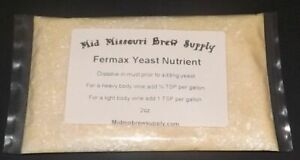 2oz Fermax Yeast Nutrient Energizer Homebrew Beer Brewing Starter Wine Moonshine
