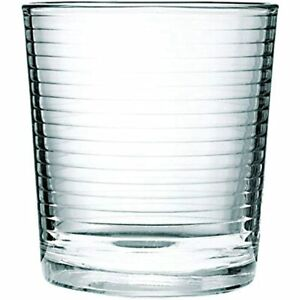 Circleware 40161 Hoop Heavy Base Whiskey Drinking Glasses, Set Of Entertainment