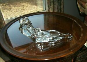 Vintage Murano Andrea Tagliapietra Lying Lovers Art Glass Sculpture - Signed
